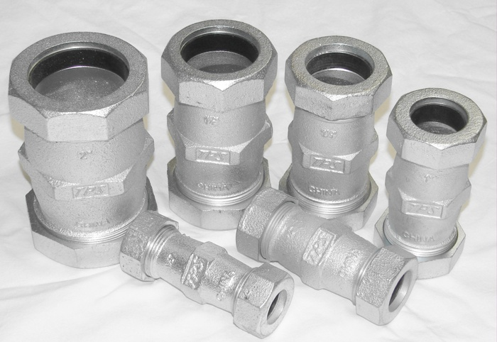 Compression fitting style total piping solutions